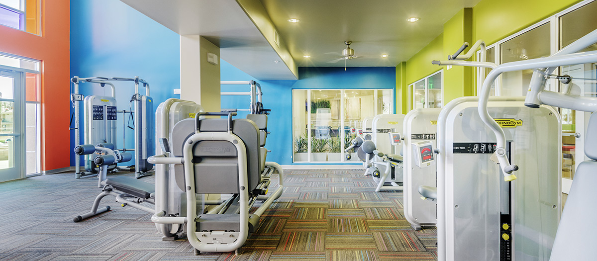 Skysong Apartments Fitness Center